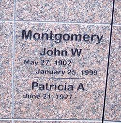 John William Bill Montgomery