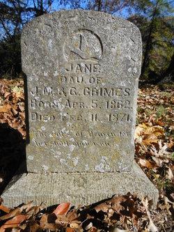 Jane Grimes