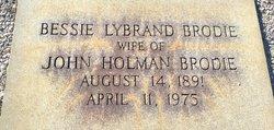 Bessie <i>Lybrand</i> Brodie