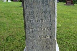 Prudence Bethia <i>Seward</i> Frost