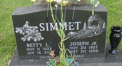 Betty L. <i>Hett</i> Simmet