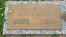 Edith M <i>Triplett</i> Aldred