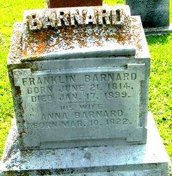 Anna Annie <i>Worth</i> Barnard