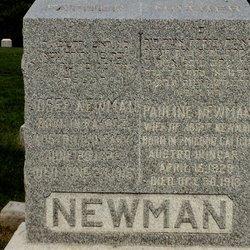 Pauline <i>Schoenwetter</i> Newman
