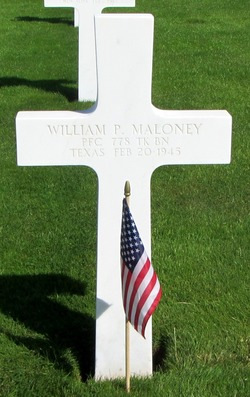 PFC William Plez Willie Maloney, Jr