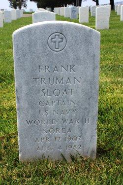 Frank Truman Sloat