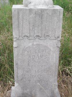 Pvt Levi Adams