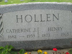 Catherine June <i>Dillon</i> Hollen