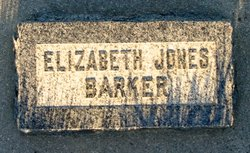Elizabeth <i>Thomas</i> Jones Barker