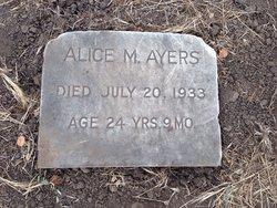 Alice M Ayers