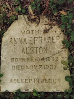 Annie Fraser Alston