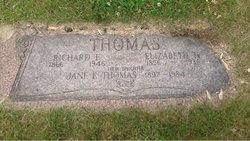 Elizabeth H <i>Bacon</i> Thomas