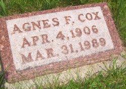 Agnes F. Cox