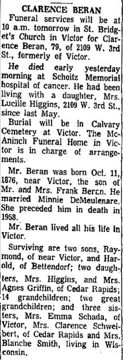Clarence Joseph Beran