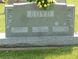 Mary <i>Lane</i> Boyd