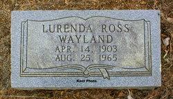 Lurenda Ross Wayland