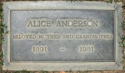 Alice <i>Pickup</i> Anderson