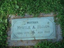 Myrtle Anna <i>Cannon</i> Sloan