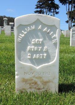 Sgt William A Allen
