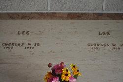 Charles W Red Lee, Sr