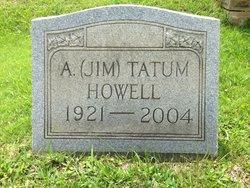 A Tatum Jim Howell