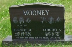 Dorothy A. <i>Sanford</i> Mooney