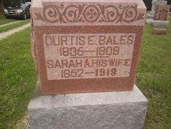 Sarah A <i>Mills</i> Bales