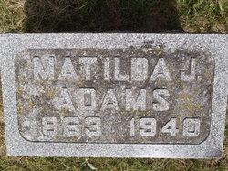 Matilda Jane <i>Comstock</i> Adams