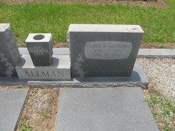 Flara Bell <i>Aldridge</i> Allman