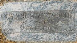 Naydene M Whitworth