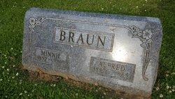 Minnie Matilda <i>Diehl</i> Braun