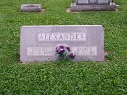 Harry S Alexander