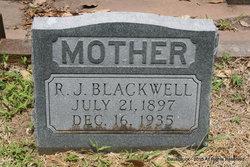 R J <i>Key</i> Blackwell