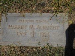 Harriet M Albright