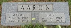 Mayme Bell <i>Taggart</i> Aaron