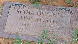 Retha Oirginia Ainsworth