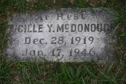 Lucille Y McDonough