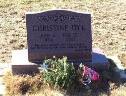 Georgia Christine <i>Edmonds</i> Dye
