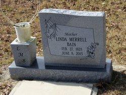 Linda <i>Merrell</i> Bain