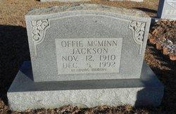 Offie <i>McMinn</i> Jackson