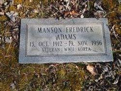 Manson Fredrick Adams