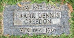 Frank D Creedon