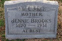 Rebecca Jane Jennie <i>Rideout</i> Brooks