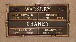 Gerald Walter Chaney