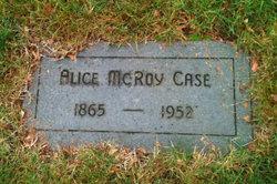 Alice <i>McRoy</i> Case
