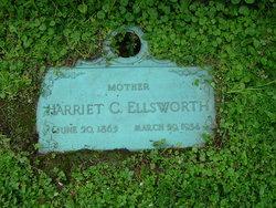 Harriet C. <i>Lyon</i> Ellsworth