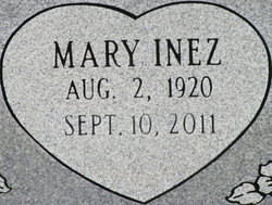 Mary Inez <i>Thomson</i> Boydstun