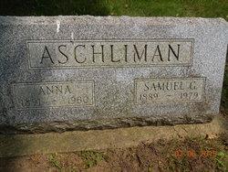 Anna <i>Plank</i> Aschliman