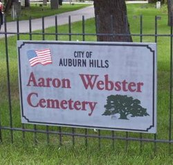 Aaron Webster Cemetery