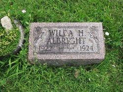 Wilda H Albright
